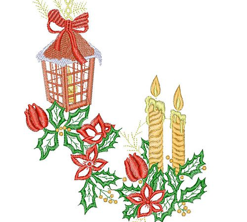 Special Christmas embroidery designs from Martin Barnes!