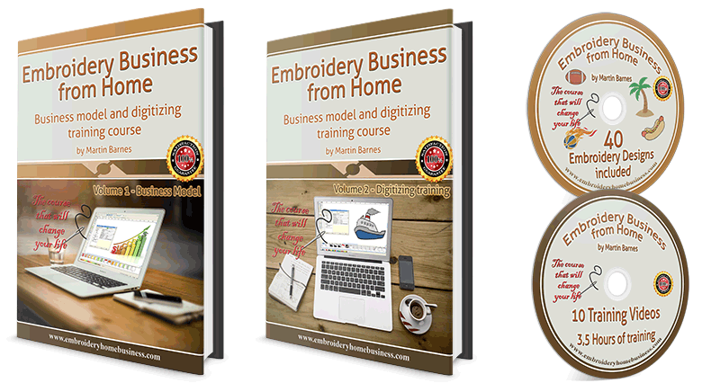 Embroidery HOME BUSINESS Review
