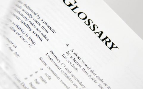 Embroidery Glossary